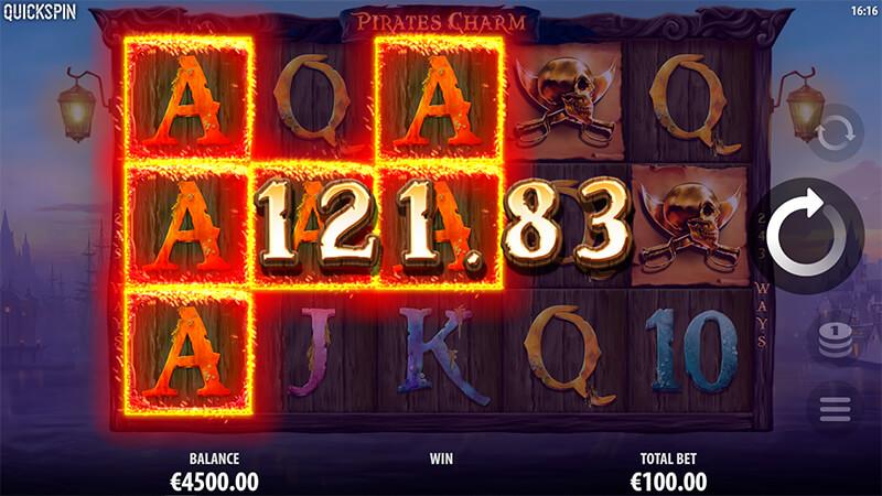 Изображение игрового автомата Pirate's Charm 2