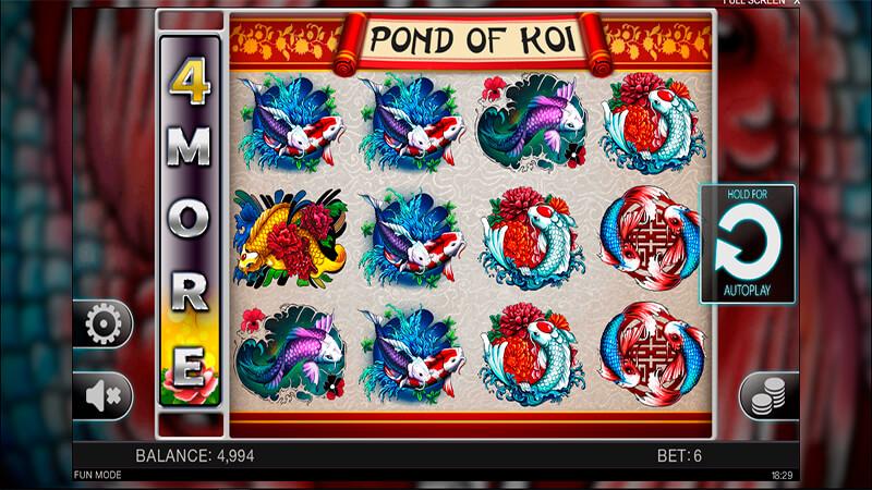Изображение игрового автомата Pond of Koi 2