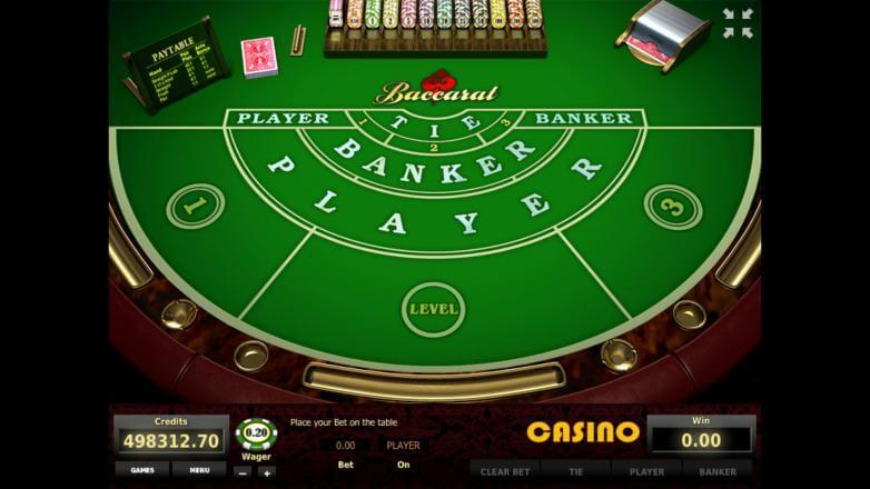 Изображение игрового автомата Baccarat 2