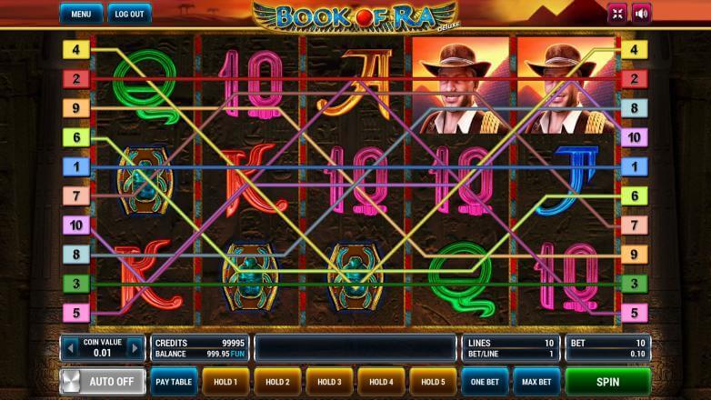 Изображение игрового автомата Book of Ra Deluxe 1