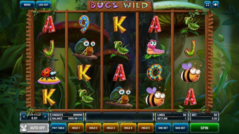 Изображение игрового автомата Bugs Wild 2
