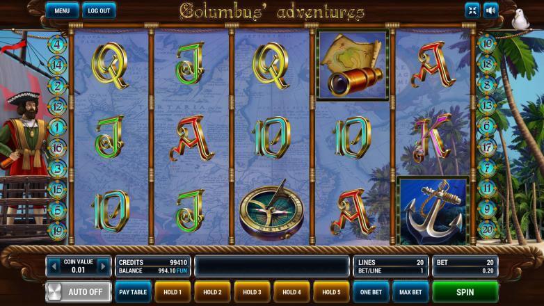 Columbus adventure игровые аппараты скачать казино 1995 смотреть онлайн hd