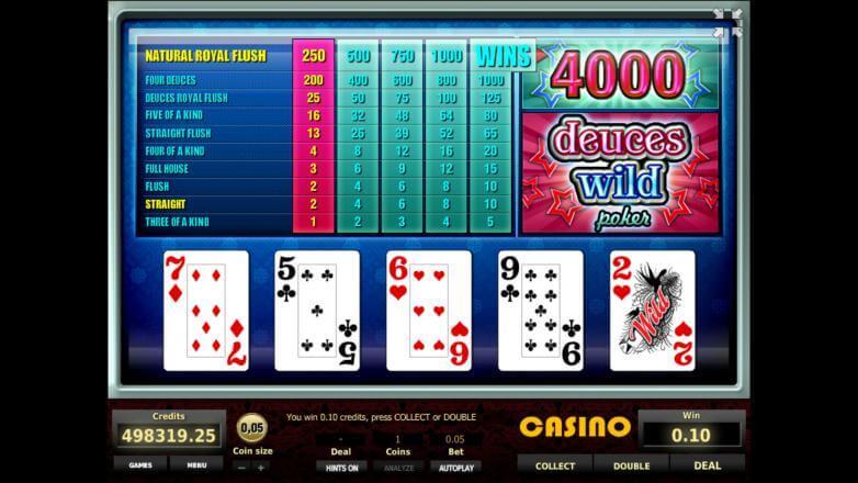 Изображение игрового автомата Deuces Wild Poker 3