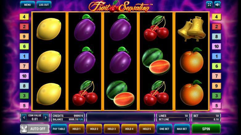 Изображение игрового автомата Fruit Sensation 2
