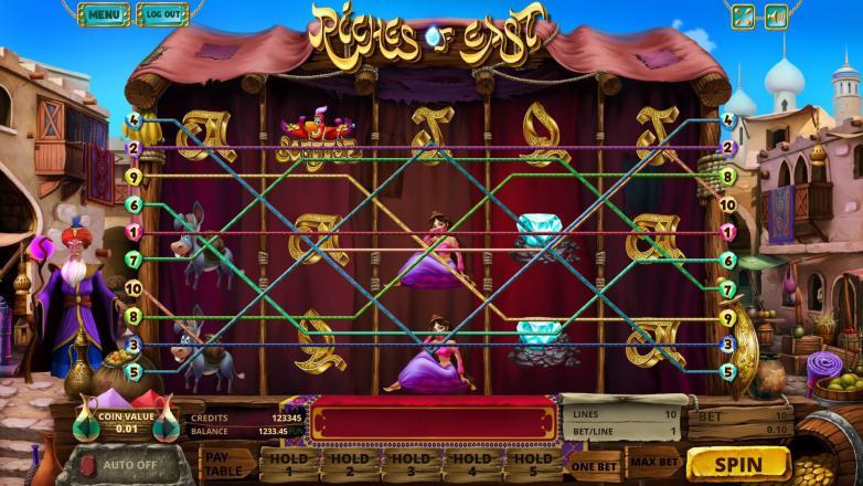 Изображение игрового автомата Riches of East 1