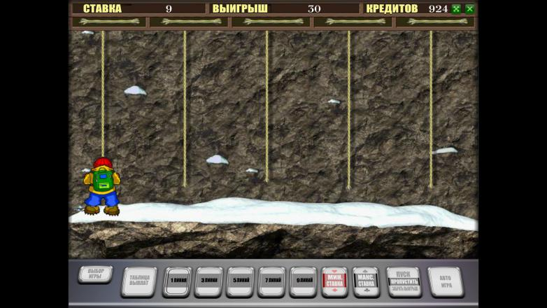 Изображение игрового автомата Rock Climber 3
