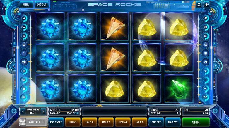Изображение игрового автомата Space Rocks 2